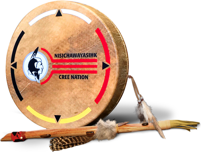 Ceremonial Drum and Pipe