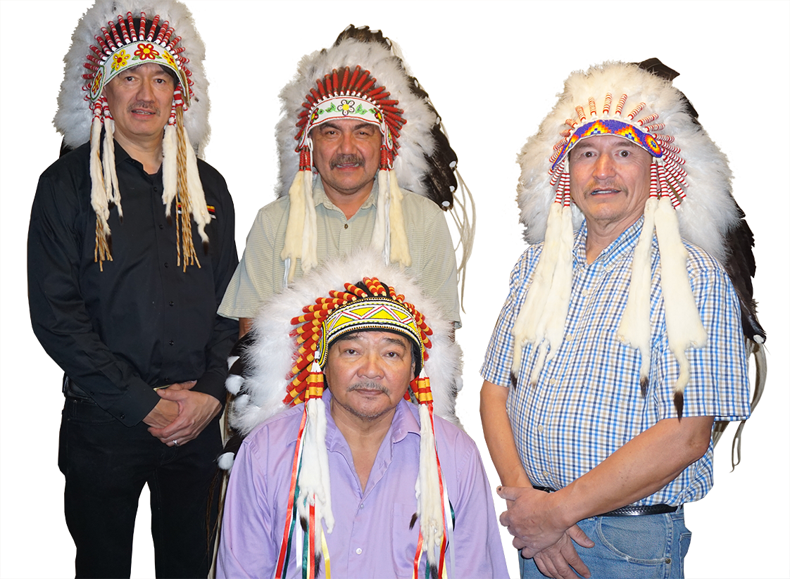 The Last four NCN Chiefs, Marcel Moody, Jim Moore, Jerry Primrose and Norman Linklater