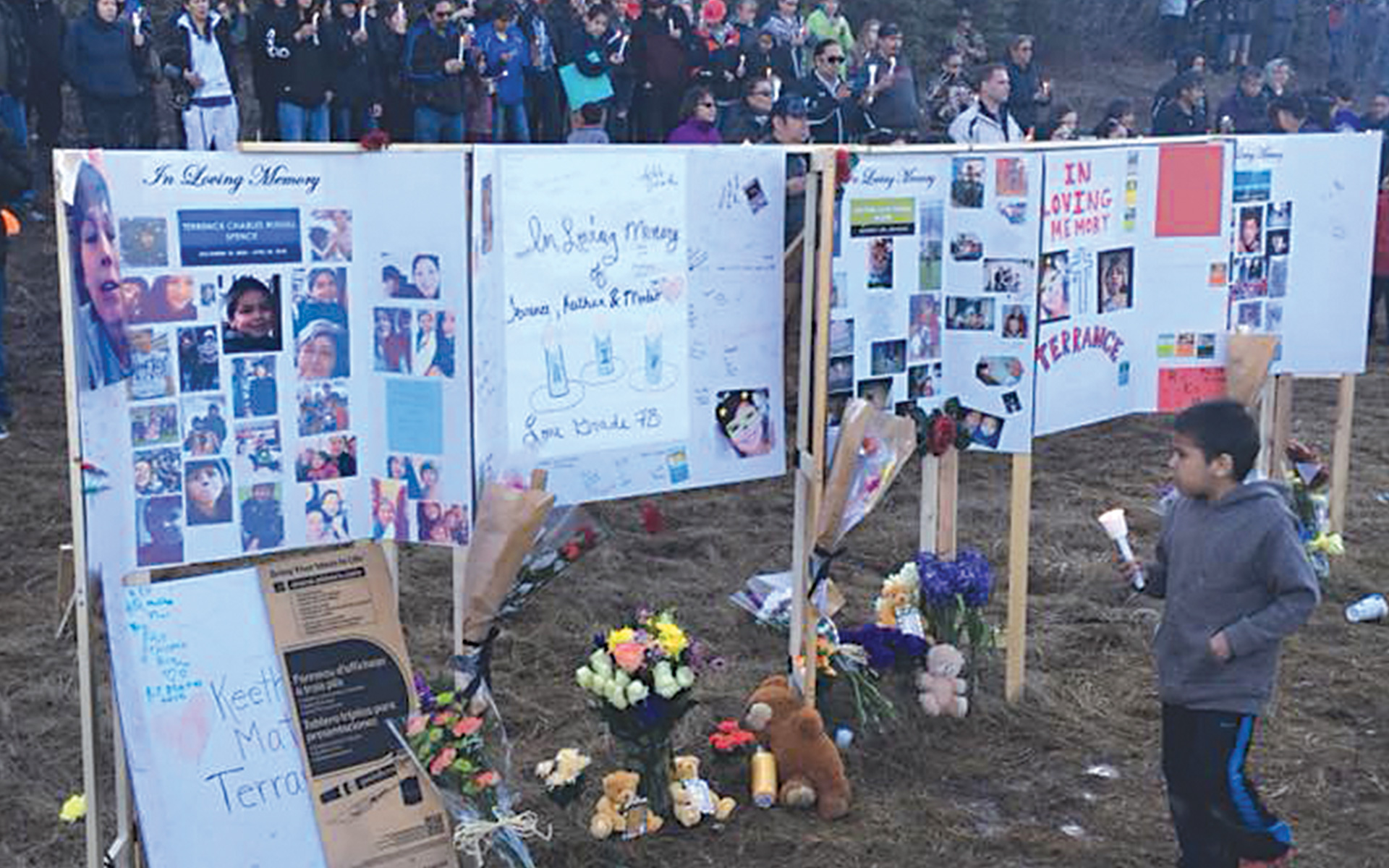 Nisichawayasihk Cree Nation Receives Outpouring of Support for Families of 3 Boys Killed in Vehicle Accident