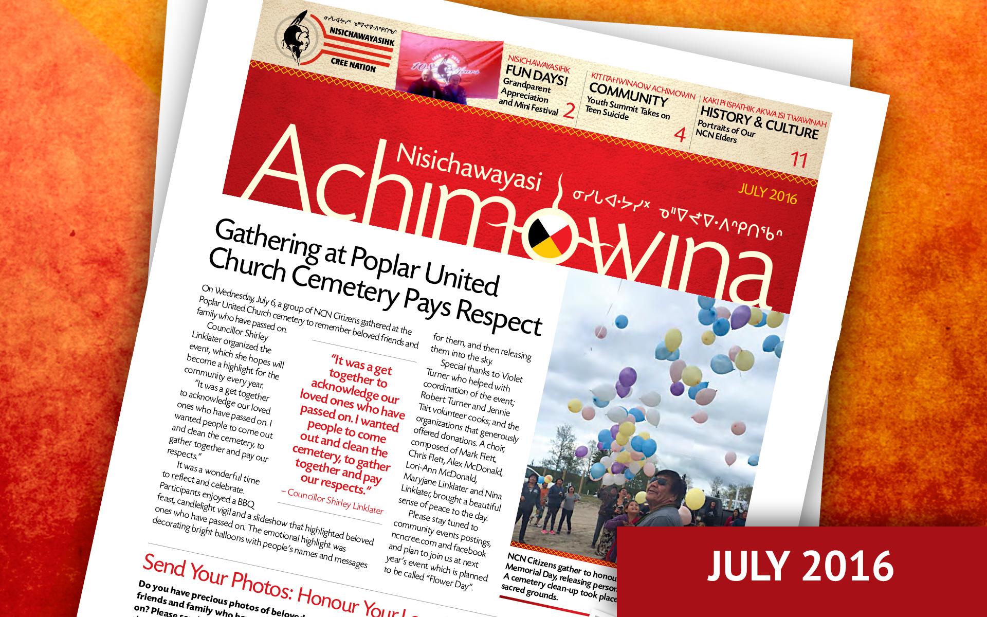 Achimowina July 2016