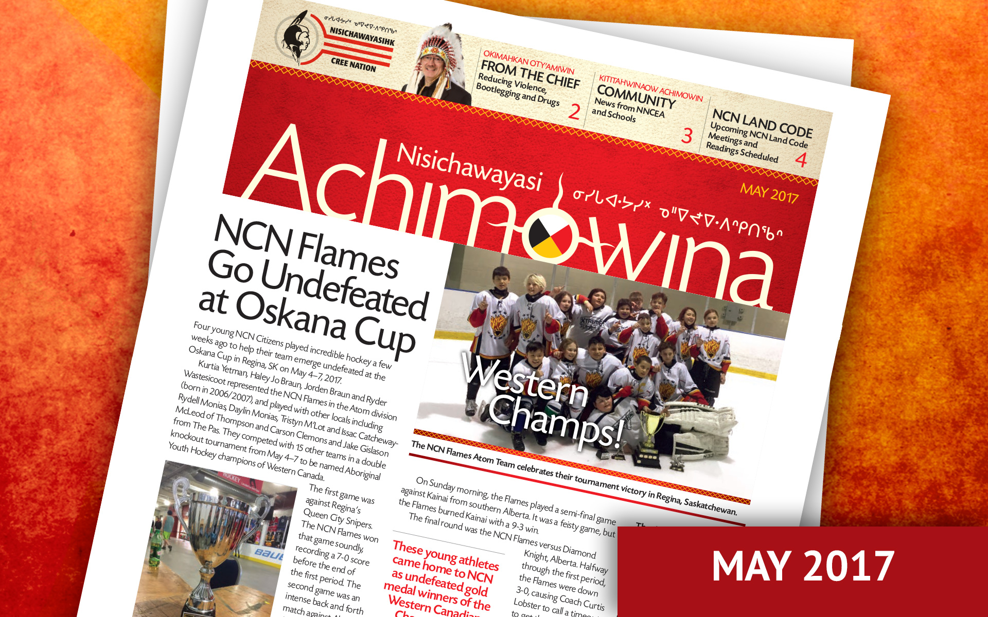 Achimowina May 2017 - NCN Flames Go Undefeated